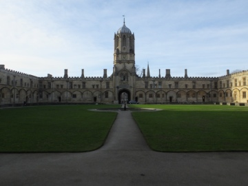 Oxford New College: Harry Potter and the Goblet of Fire