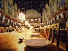 Christ Church College: The hallways + the staircases have been used as location for many Harry Potter scenes + Tudor Great Dining Hall was used as an inspiration for the great Hogwarts Dining Hall