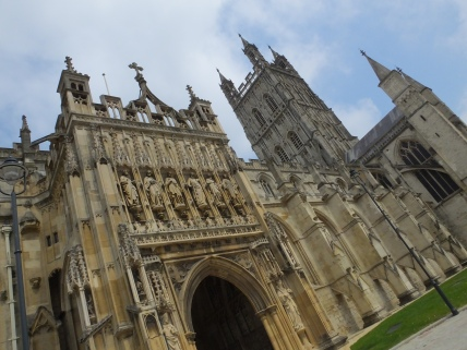 Gloucester Cathedral: Harry Potter and the Philosopher's Stone, the Chamber of Secrets and the Half Blood Prince